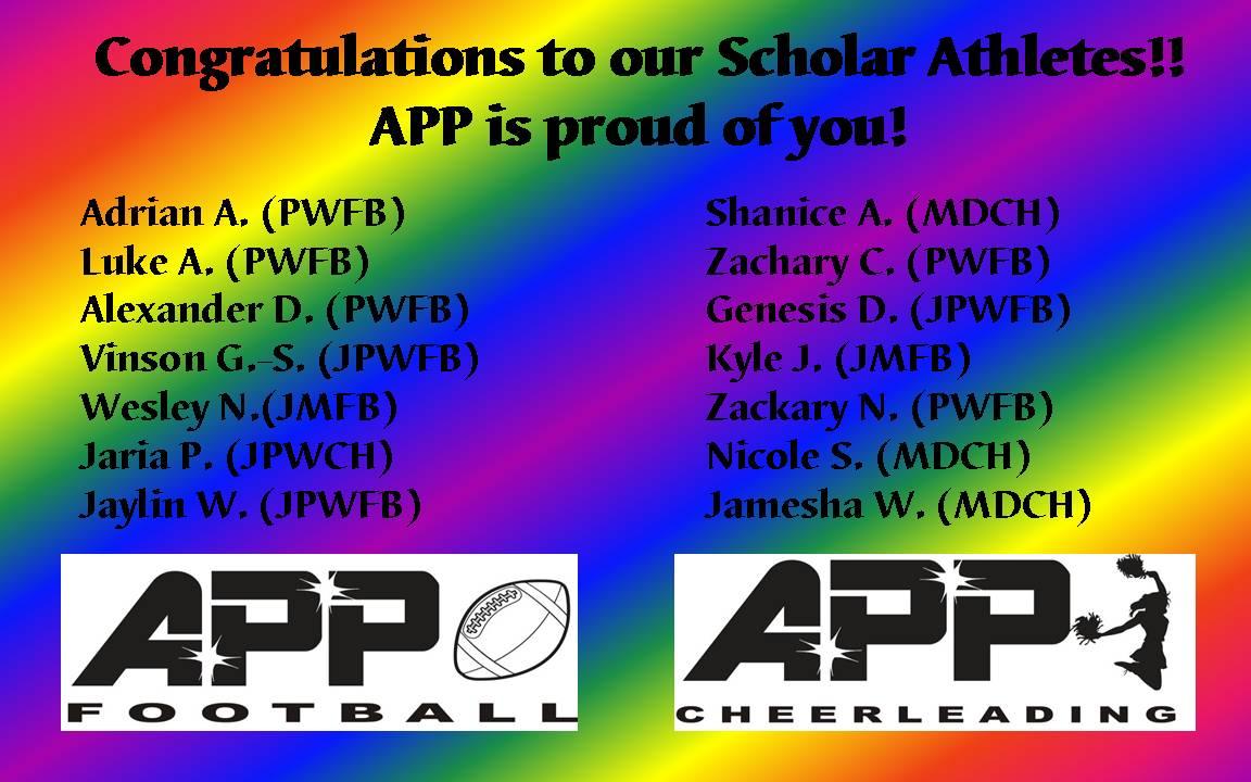2014-15 APP Eligible Scholars