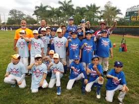 9U AAA Latino Blue vs Miami Stars