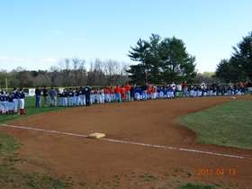 Opening Day 2013 teams lined up