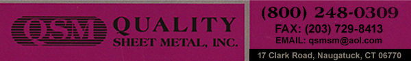 Quality Sheet Metal