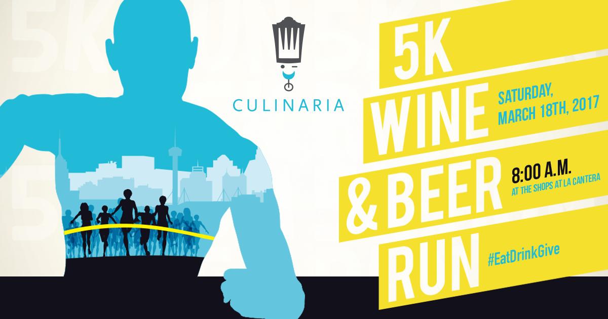 Culinaria Wine Amp Beer Run 2017 San Antonio Tx 2017 Active