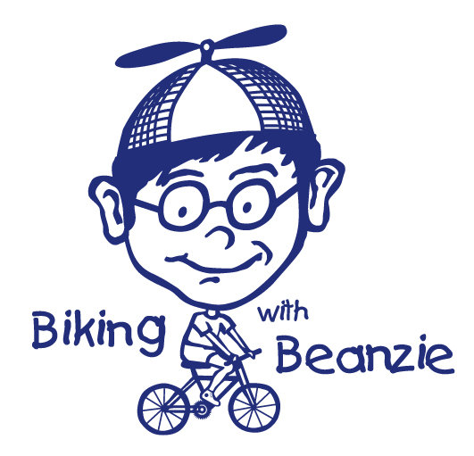 Image result for Biking with Beanzie logo