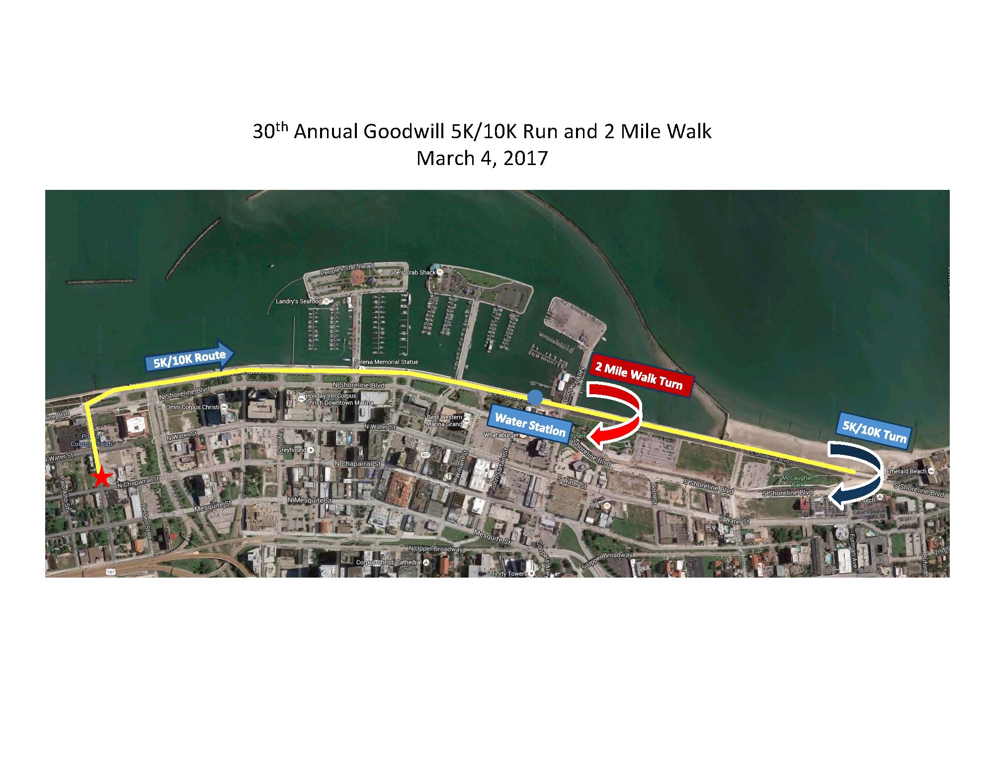 30th Annual Goodwill 5K/10K Run & 2 Mile Walk - Corpus ...