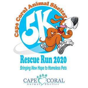 Cape Coral Animal Shelter Rescue Run 2021 5K   Cape Coral, FL 2021