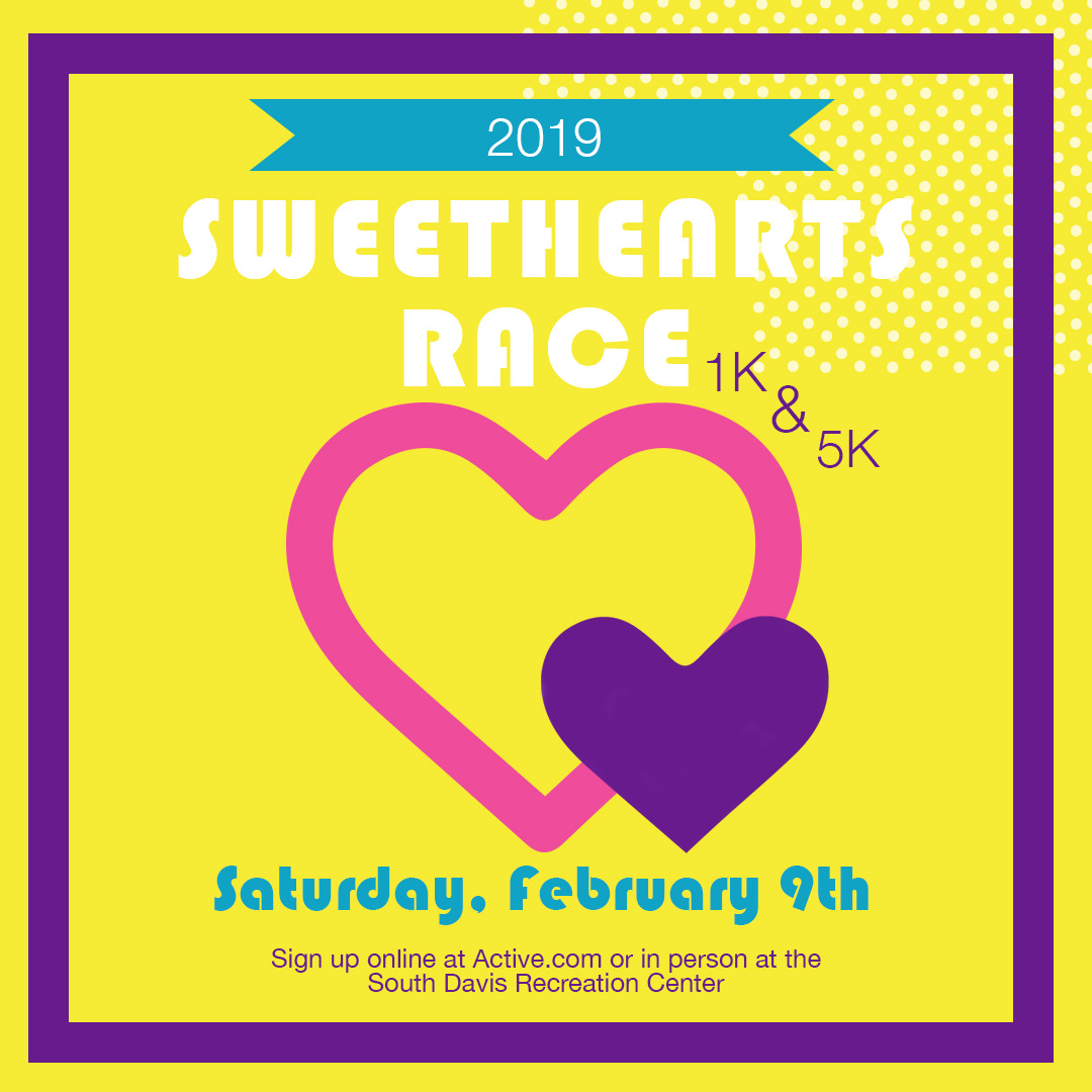 2019 South Davis Sweethearts 5k 1k Bountiful Ut 2019 Active
