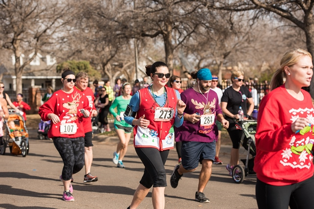 3rd Annual Ugly Christmas Sweater Run - Midland, TX 2015 | ACTIVE