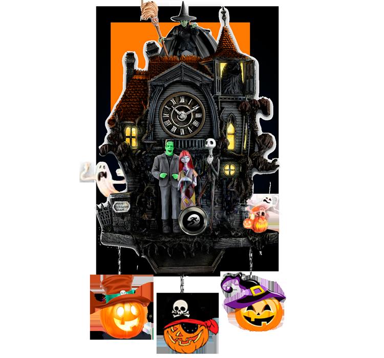 halloween pumpkin run cuckoo clock horror house13110k5k1k