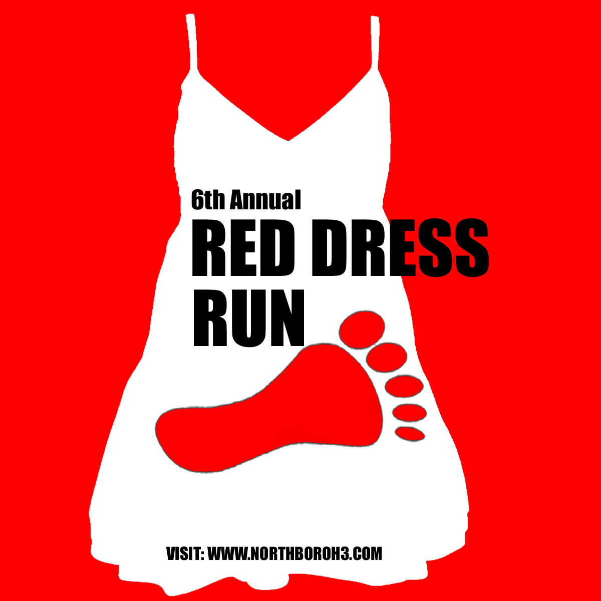 Red dress 5k 3 mile