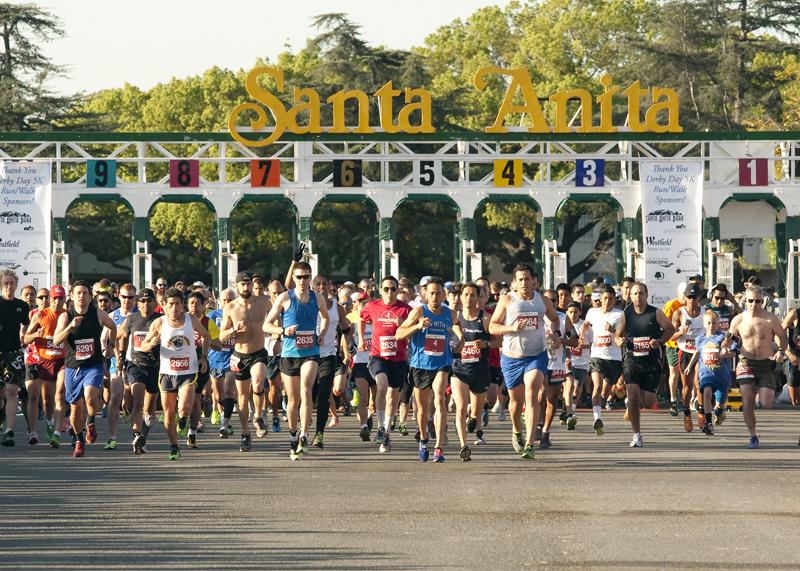 23rd Annual Santa Anita Derby Day 5k Arcadia Ca 2017