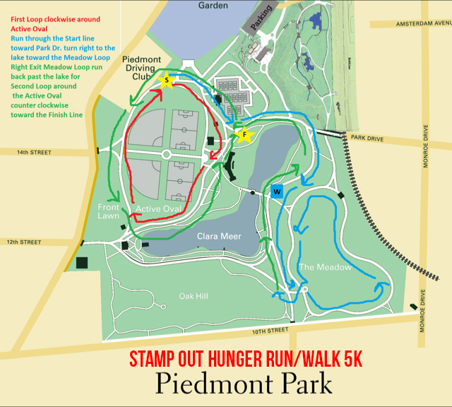 Stamp Out Hunger RunWalk K Atlanta GA ACTIVE - How to map out a run