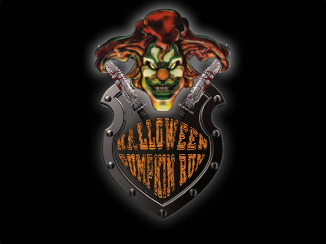 halloween the evil clown medal 13 1m 10k 5k 1mile norman ok 2018
