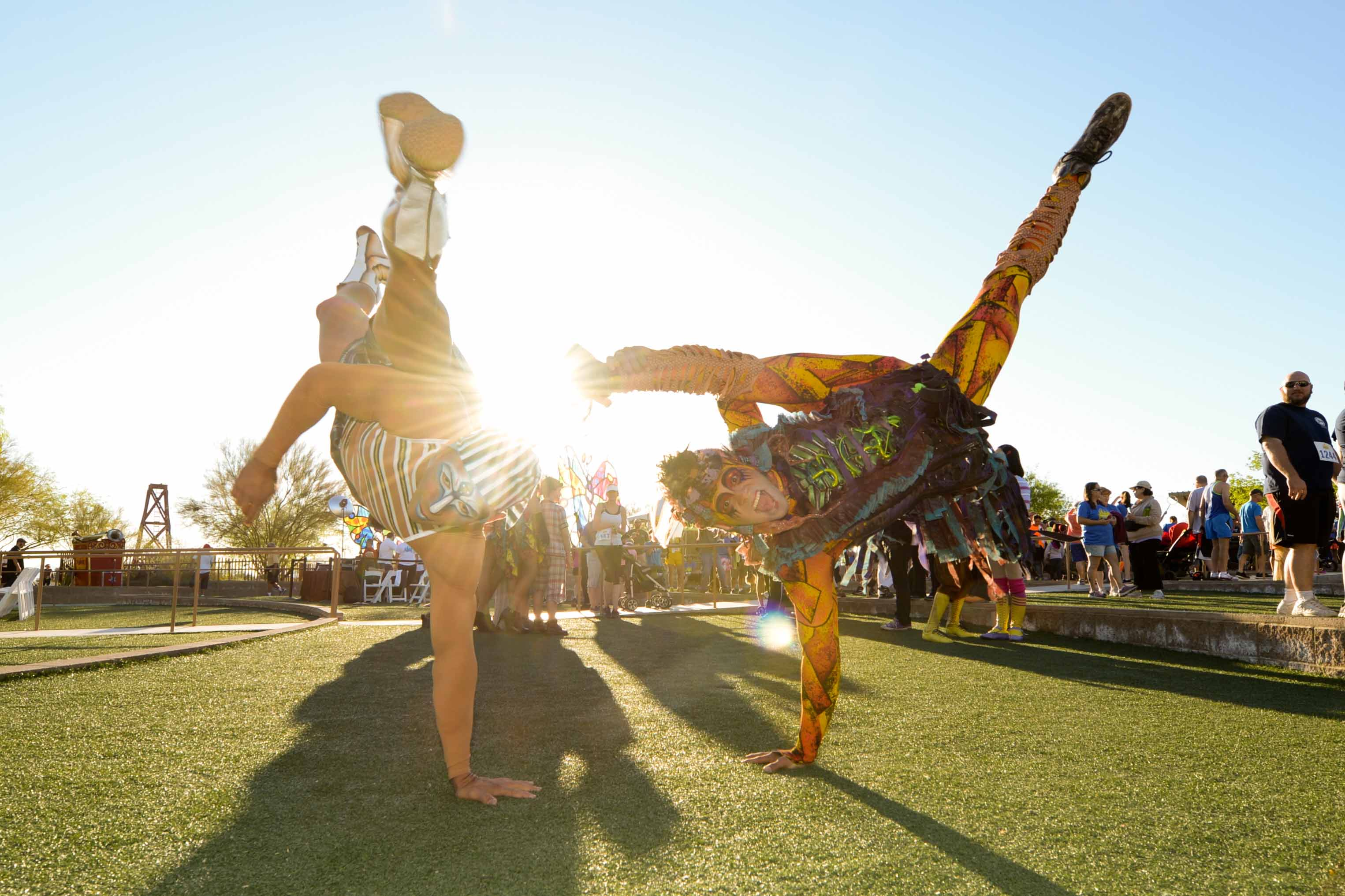 Run Away With Cirque du Soleil at the Springs Preserve 5K