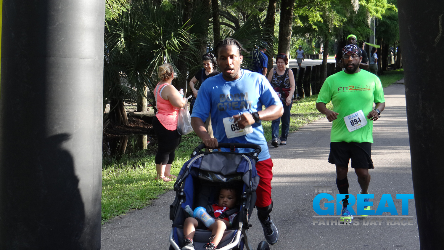 The Great Fathers Day Race 2016 5K RunWalk Tampa Tampa