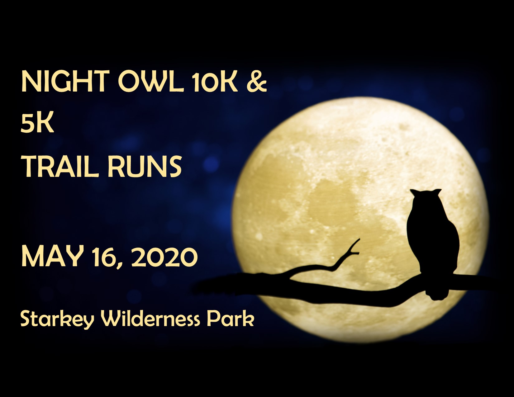 Starkey Park Halloween 2020 Night Owl 10k & 5k Trail Runs   New Port Richey, FL 2021 | ACTIVE