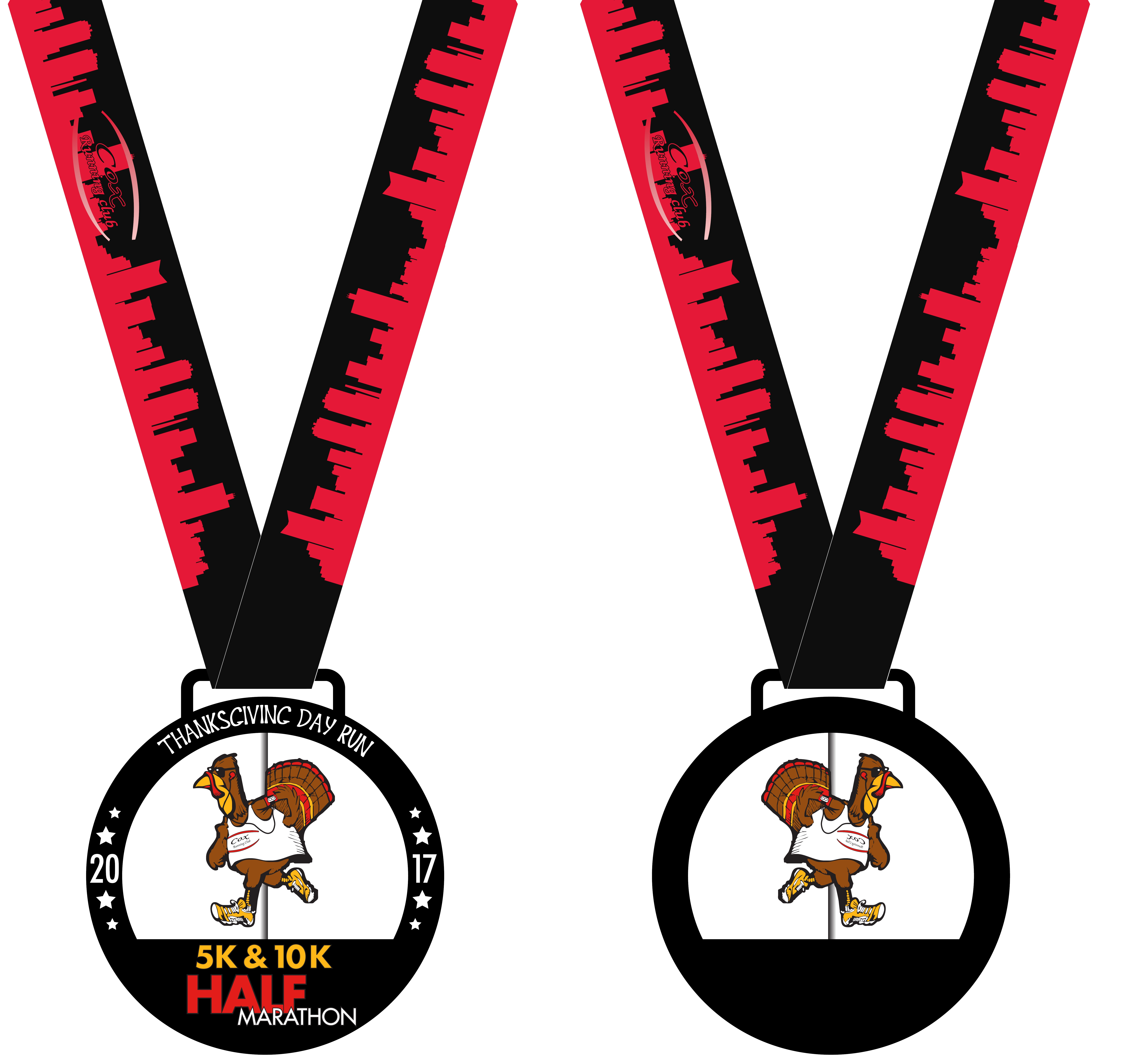 crc thanksgiving day run results 2018