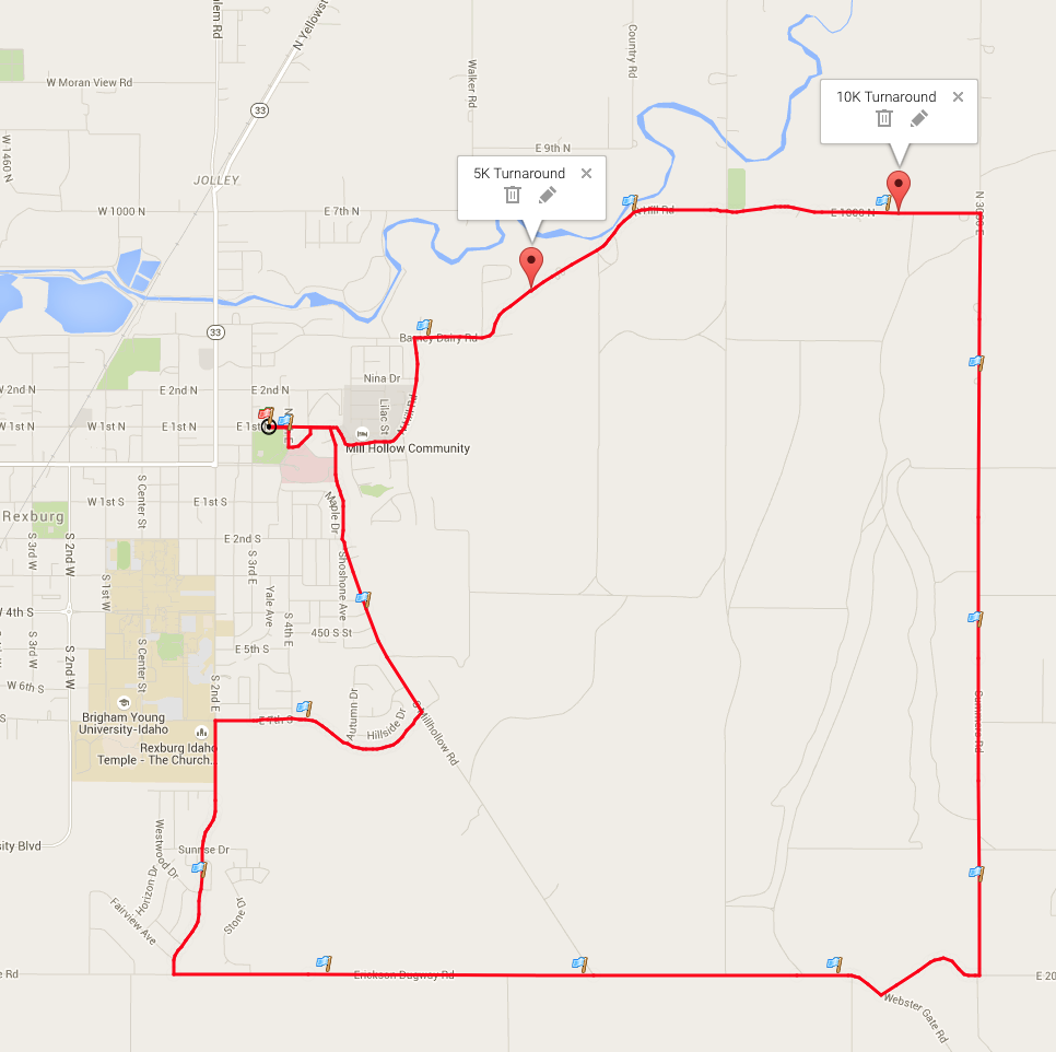 OUR Run To Break The Chain Rexburg ID 2015 ACTIVE