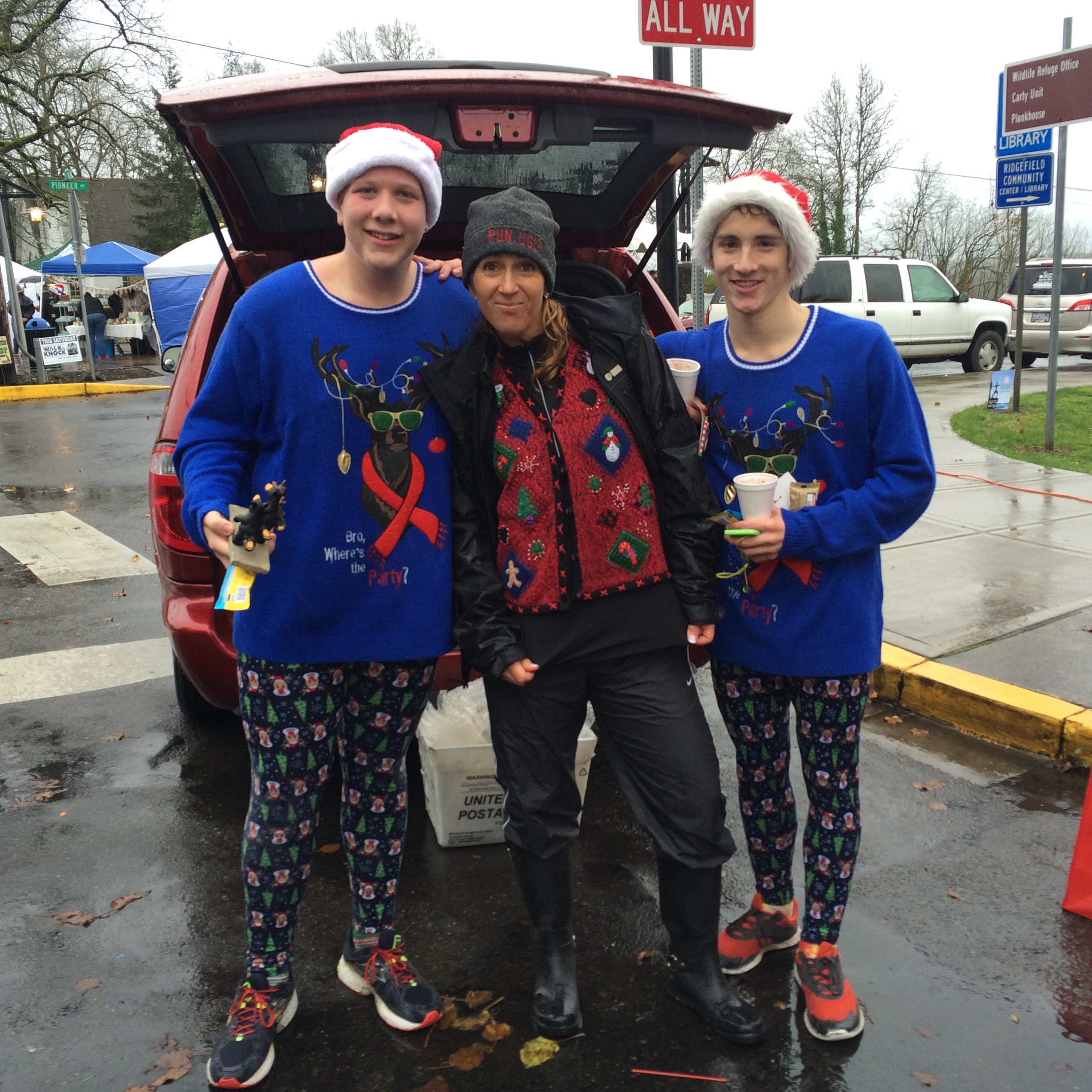Ugly Christmas Sweater Run - Ridgefield, WA 2016 | ACTIVE