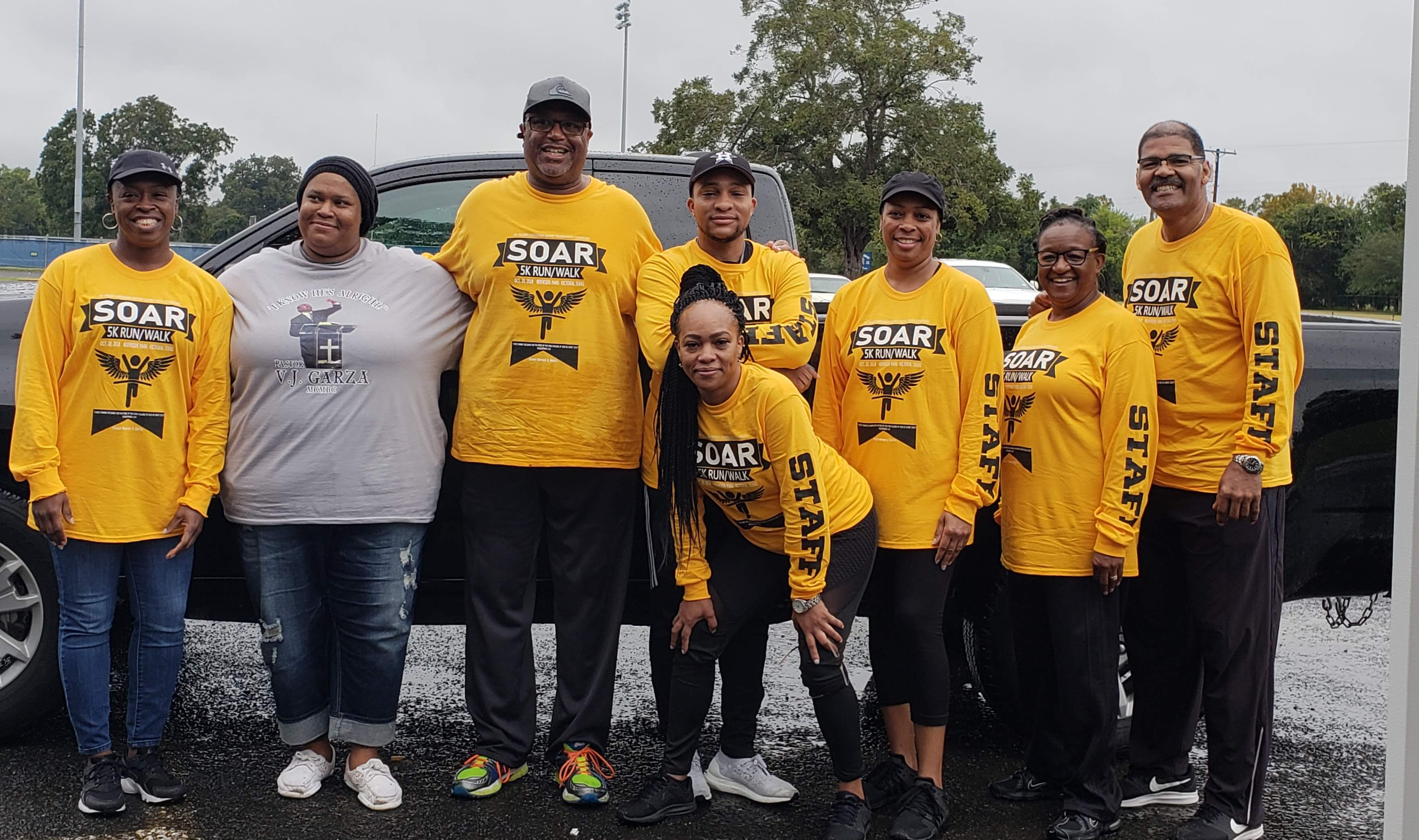 SOAR 5K The Roth Construction 5K Scholarship Run is a Running race in Victoria, Texas consisting of a 5K.