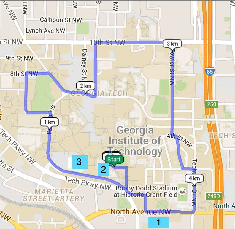 Run for Ronald - Atlanta, GA 2016 | ACTIVE Gatech Map on iastate map, tech campus map, kennesaw map, morehouse map, uga transit map, georgia tech student center map, georgia tech boggs building map, georgia tech location map, north georgia technical college campus map,