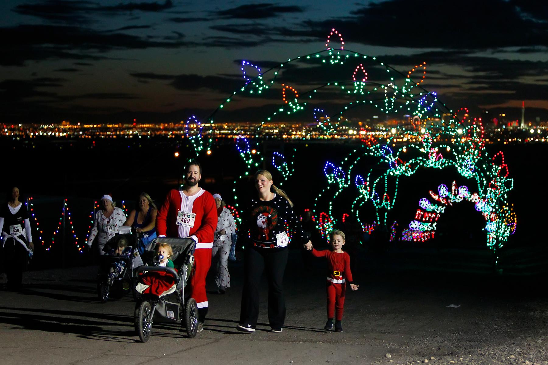 PJ 5K Run & 1 Mile Walk through Glittering Lights Las Vegas NV