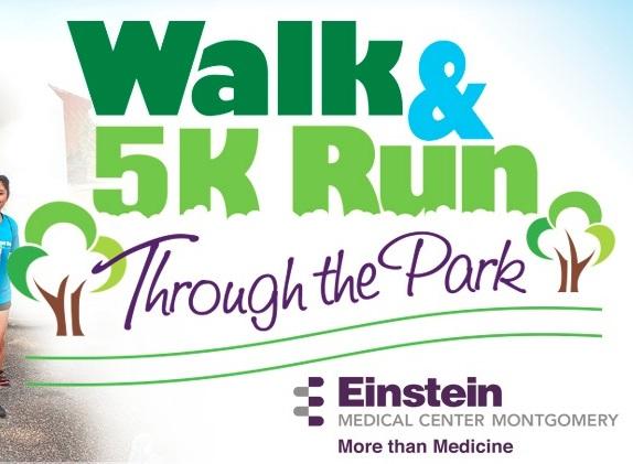 Einstein Walk and 5k Run Through the Park - East Norriton, PA 2018