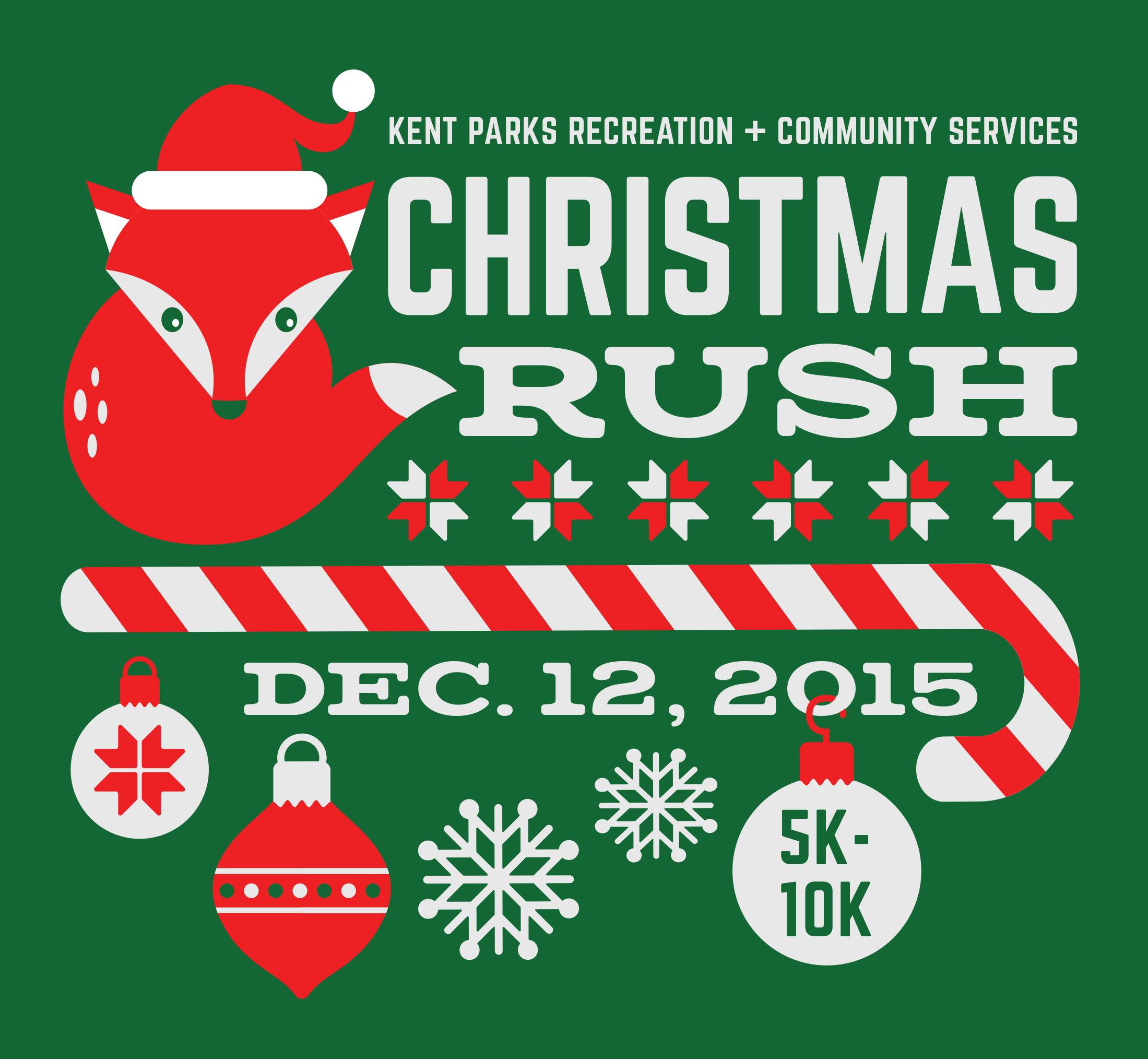 Christmas Rush Fun Run/Walk - Kent, WA 2015 | ACTIVE