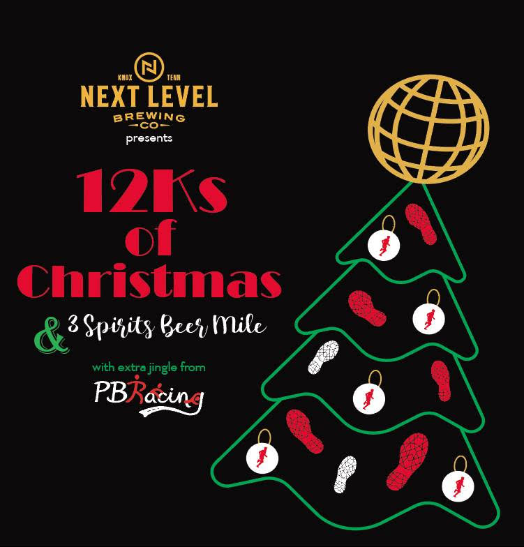 Knoxville Christmas Events 2020 The 12ks of Chrismas & 3 Spirits Beer Mile   Knoxville, TN