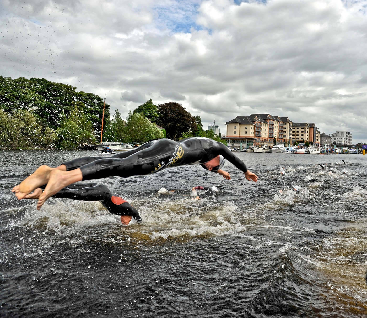 Waterways Ireland triAthlone © Waterways Ireland; click picture to triAthlone Website