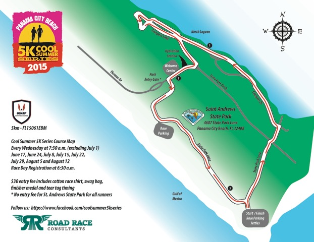 K Road Races Pamana City Beach Fl    To
