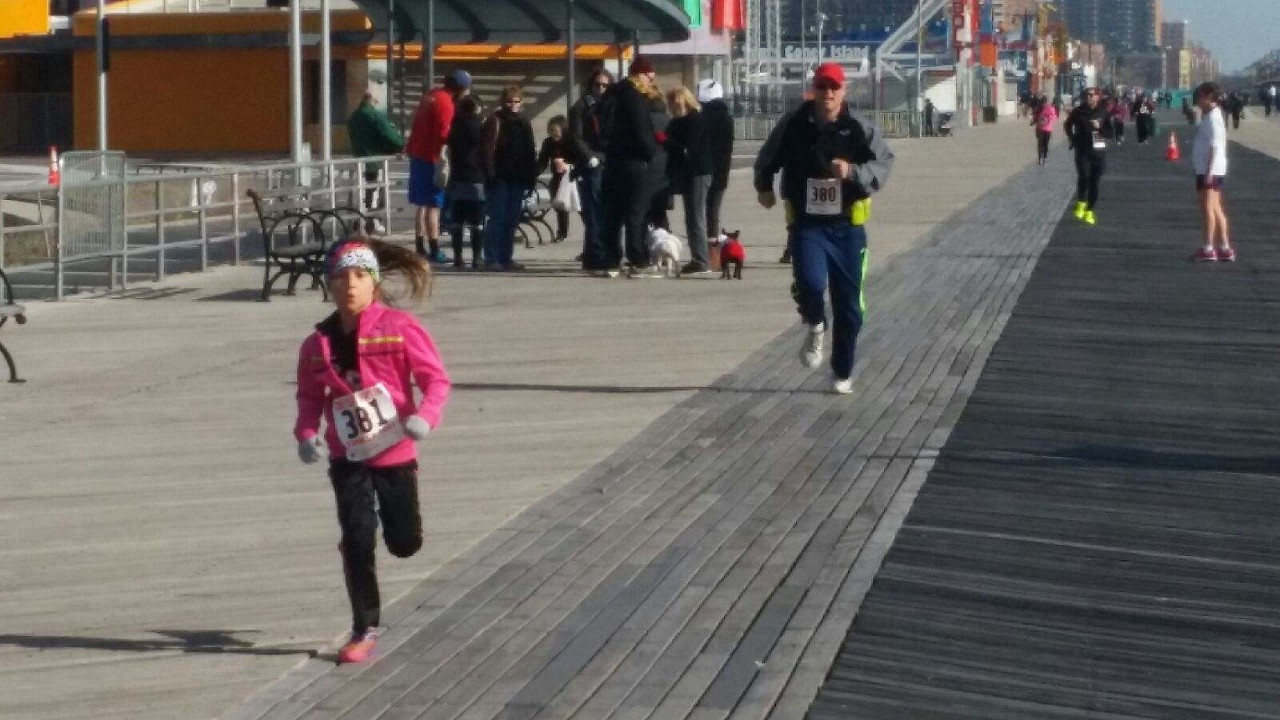 Coney Island Boardwalk K Turkey Trot