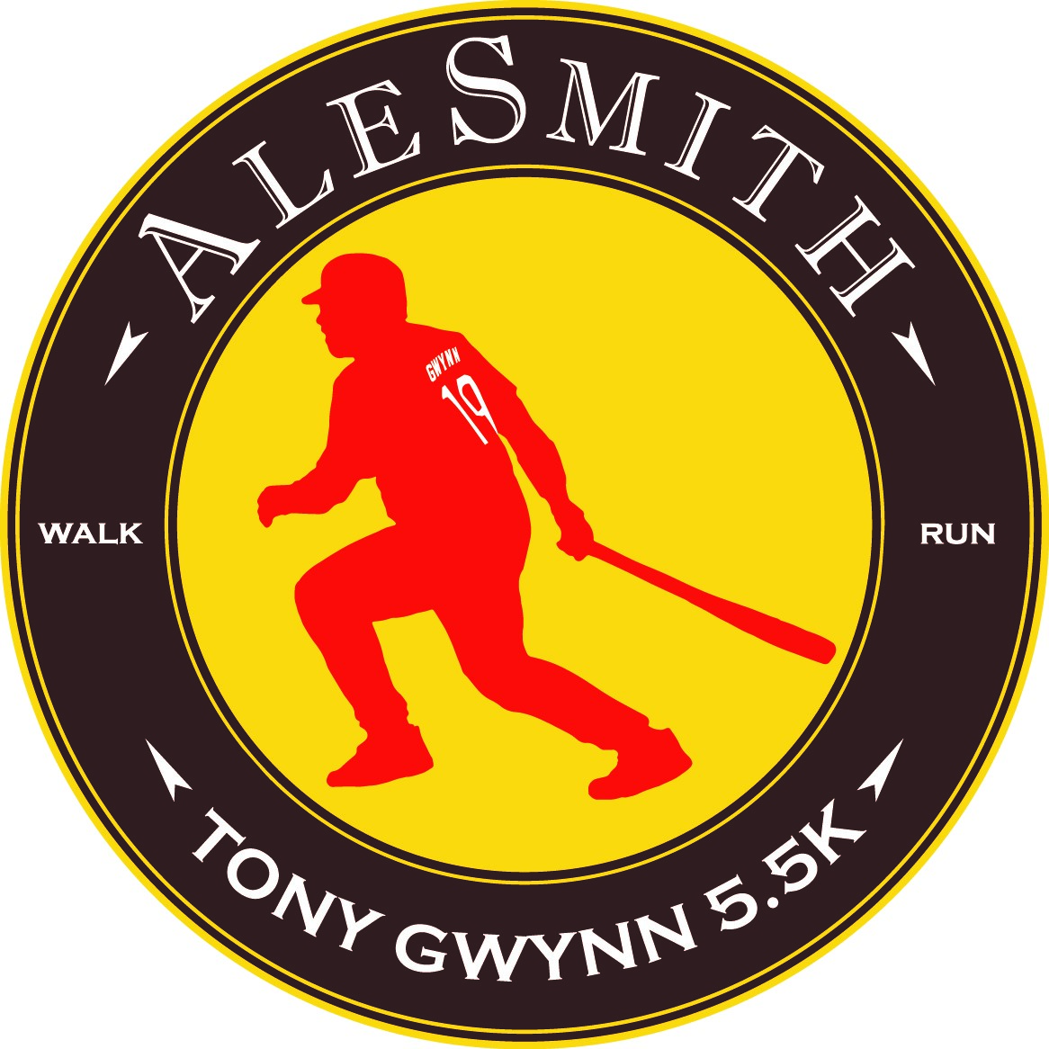 Image result for Tony Gwynn 5.5K Run & Walk