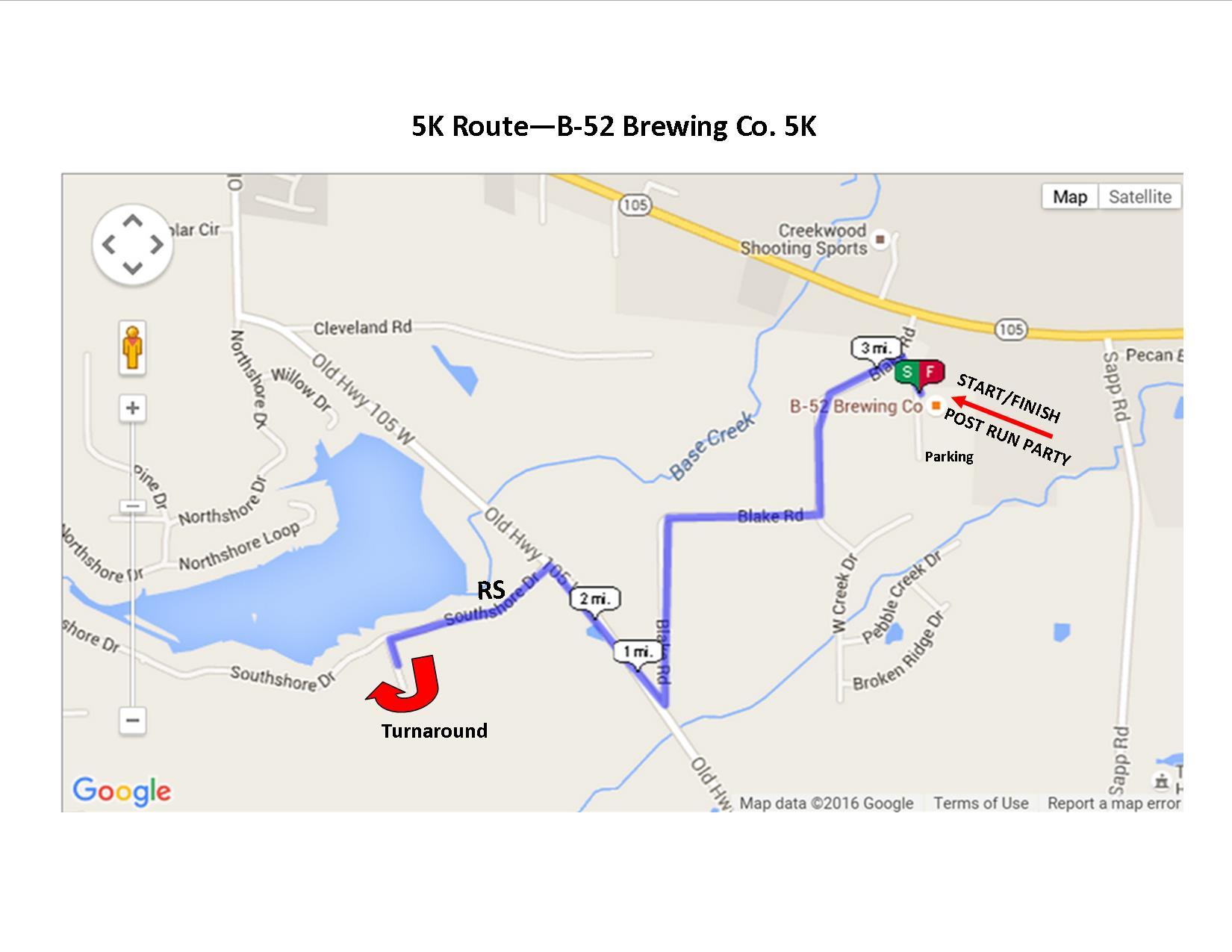 ADA & B-52 Brewery 5K Run - Conroe, TX 2016 | ACTIVE