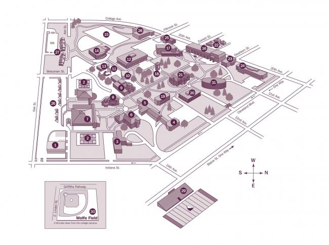 College Of Idaho Campus Map | nlschoenshop