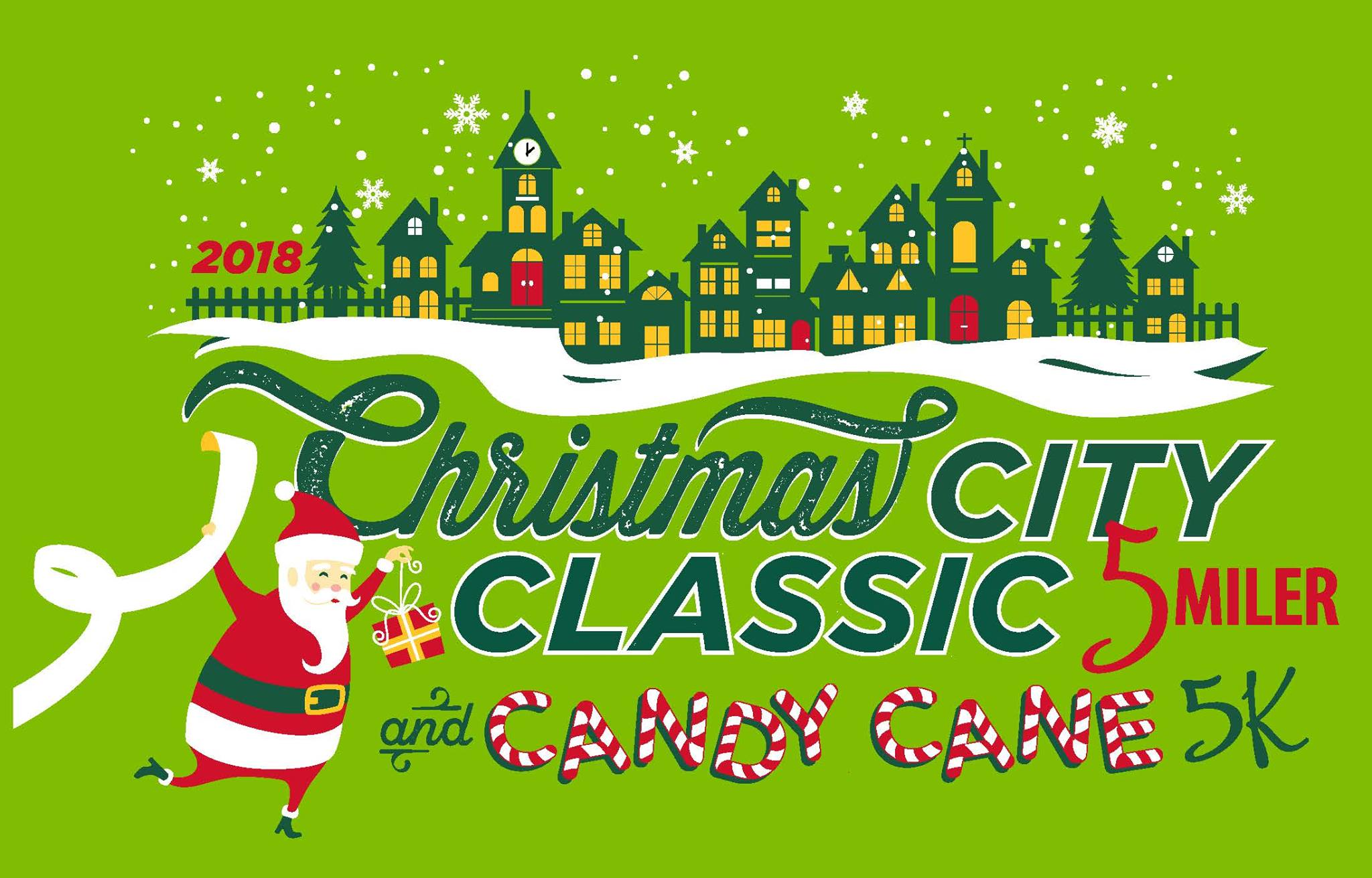 2018 Christmas City Classic 5-miler and Candy Cane 5k